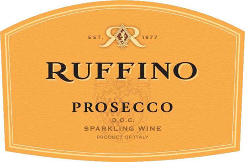 Ruffino Prosecco wine label