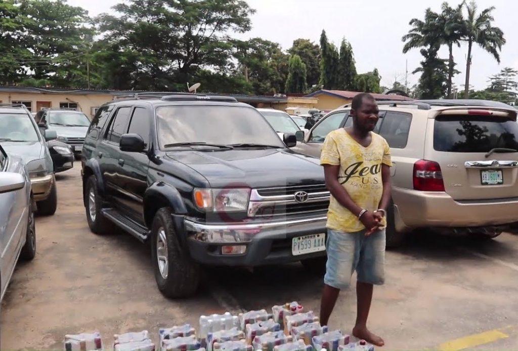 Fake wine in Lagos