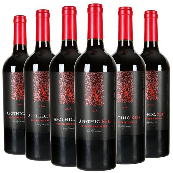 Price of Apothic red wine in Nigeria