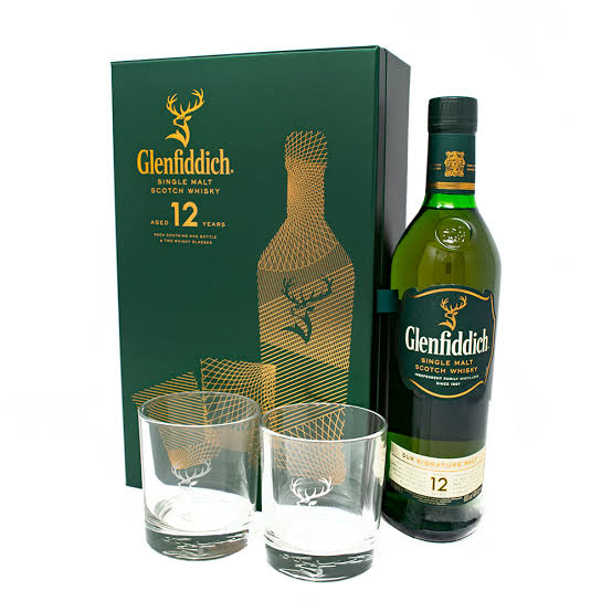 Glenfiddich 12 Years Old Whisky Giftbox