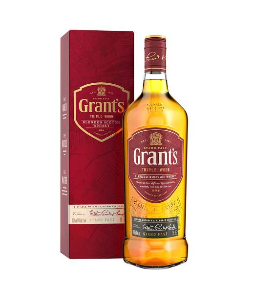 Price of Grants whisky in Nigeria